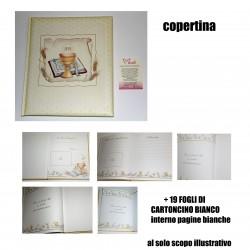 ALBUM FOTO COMUNIONE PERGAM. CALICE COMUNIONE