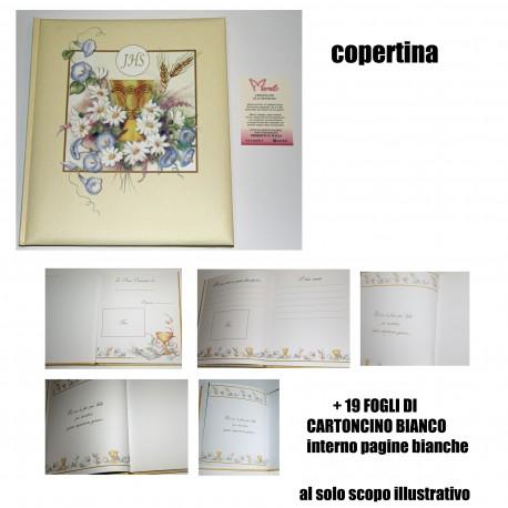 ALBUM FOTO COMUNIONE CALICE COMUNIONE+ VETRATA
