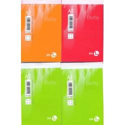 Block notes a7 quadretti 5mm, 70fogli 8x12cm
