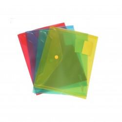 Busta con bottone formato a5 Colori assortiti