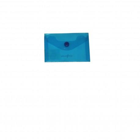 BUSTA CON BOTTONE POLIPROPILENE A7 8 X11,5mm ASSORTITI