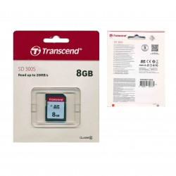 TRANSCEND SD 300S READ UP TO 20MB/S 8GB