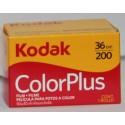 kodak color plus rullino 135mm colore da 36 pose iso200