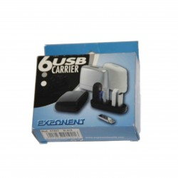 USB CARRIER CONTENITORE PER 6 USB